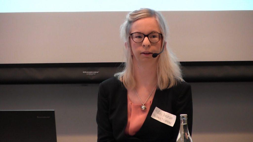 Andrea Bondesson berättar om Funktionsrättskonventionen