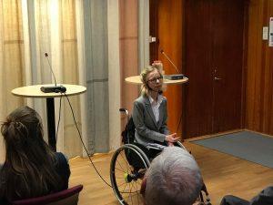 Andrea Bondesson hos Talerättsfonden