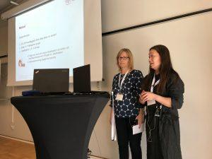 Lill Hultman ochAnn-Marie Öhrvall från Karolinska Institutet