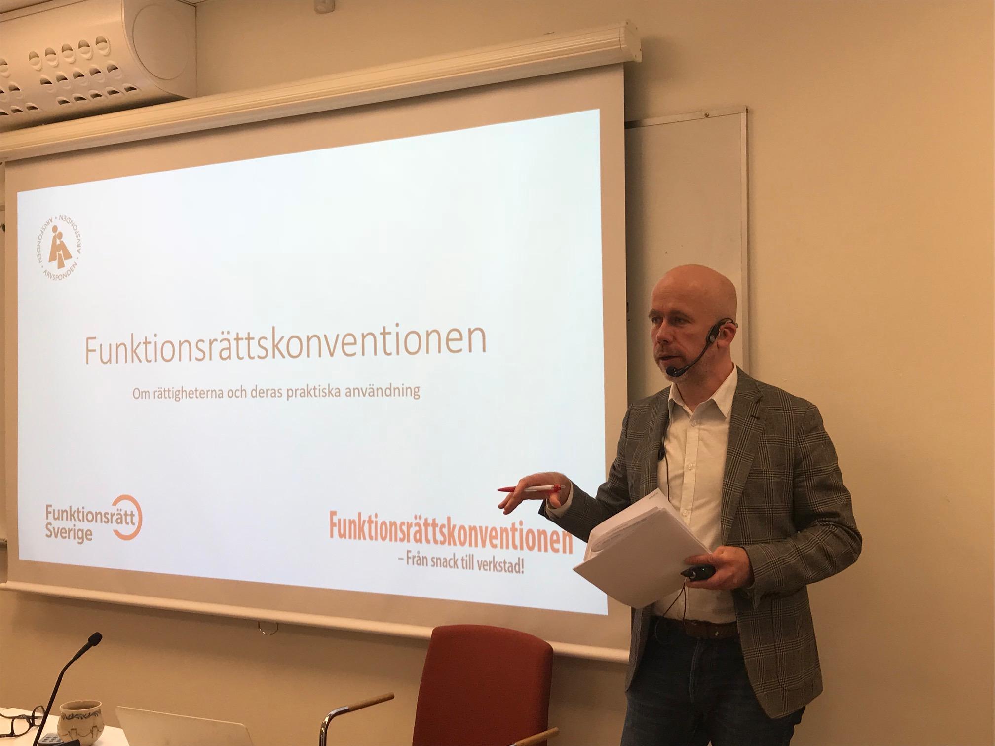 Slutseminarium för projektet Från snack till verkstad